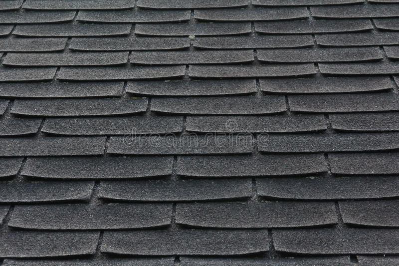 Download Shingles on a Roof stock image. Image of even, shingles - 33057181
