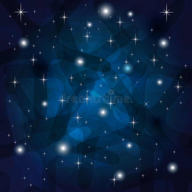 Download Shining Abstract Dark Blue Background Stock Vector - Image: 31980078