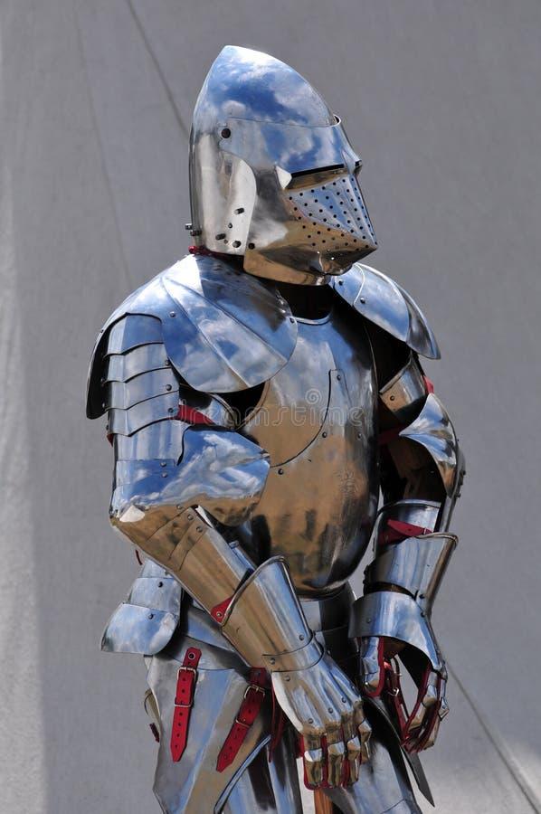 Shining armour. stock photography