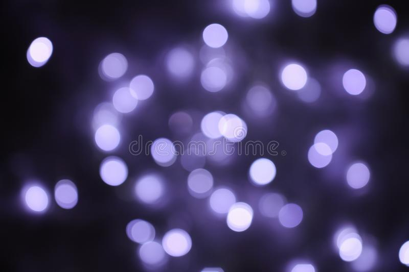 The shining background with blue circles of light. Bokeh. Party time royalty free stock photography