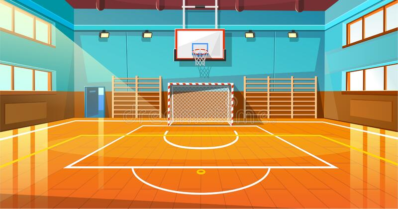 Indoor Basketball Court Stock Illustrations 773 Indoor Basketball Court Stock Illustrations Vectors Clipart Dreamstime