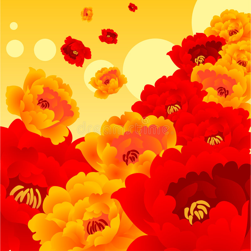 Shining Flower Royalty Free Stock Images