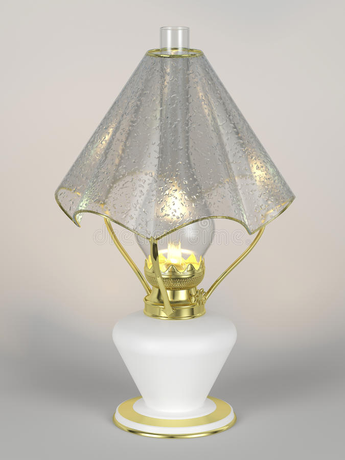 The shining of kerosene lamp with the lamp shade stock image image download the shining of kerosene lamp with the lamp shade stock image image of drops mozeypictures Image collections