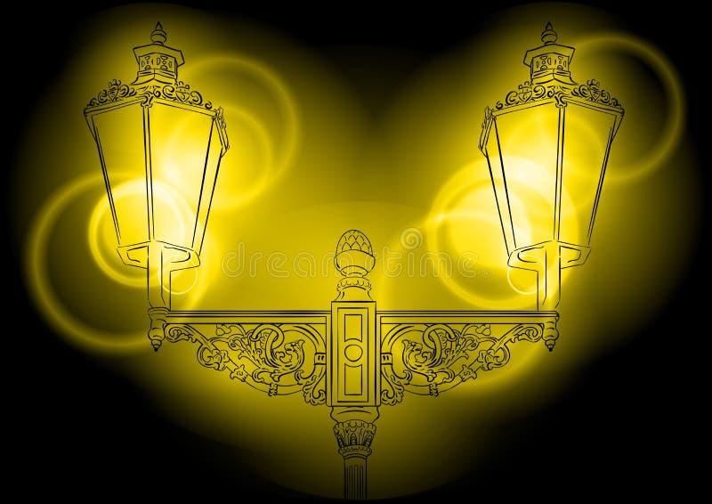 Shining Lamp Royalty Free Stock Photo