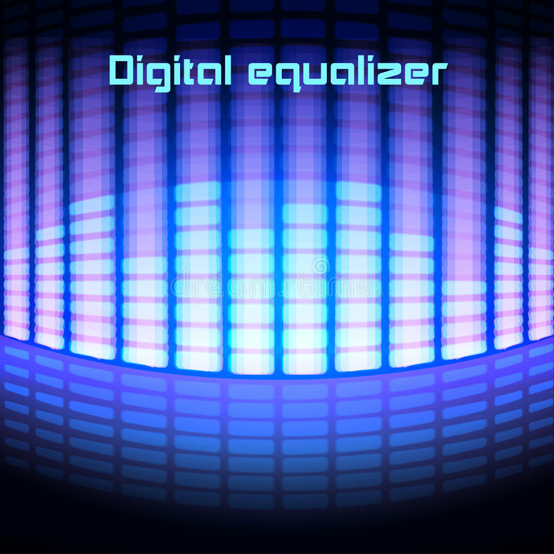 Download Shining Magenta Digital Equalizer Background Stock Vector - Illustration of musical, club: 39504168