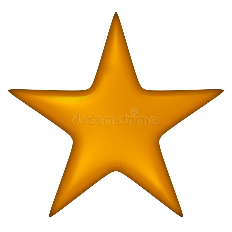 Shining star stock illustration