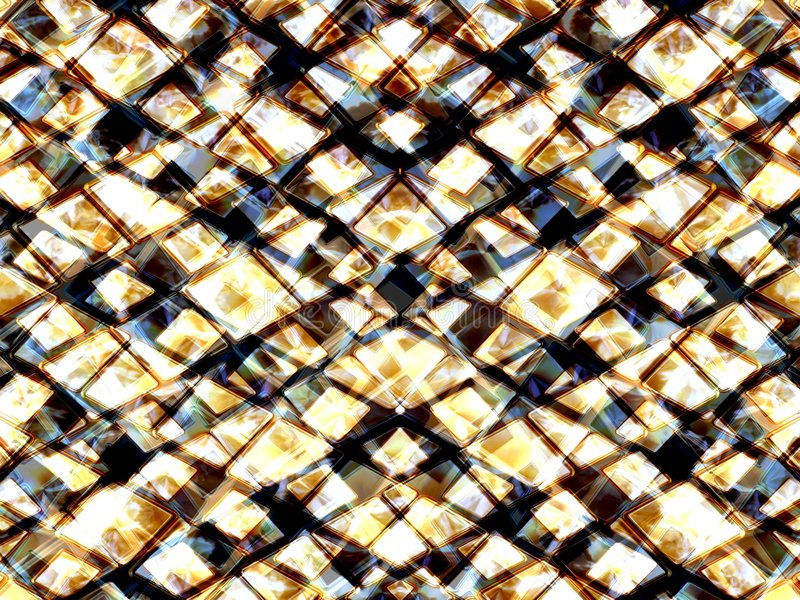 Shining triangles 2 stock illustration