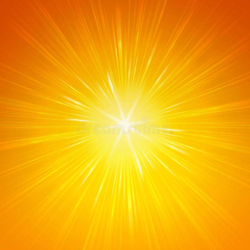 Shining yellow lights vector illustration