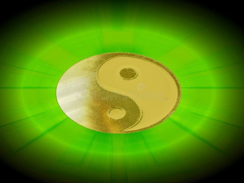 Shining Yin Yang Stock Images