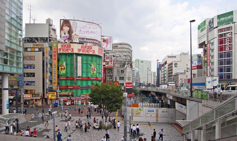 shinjuku заречья стоковое фото rf