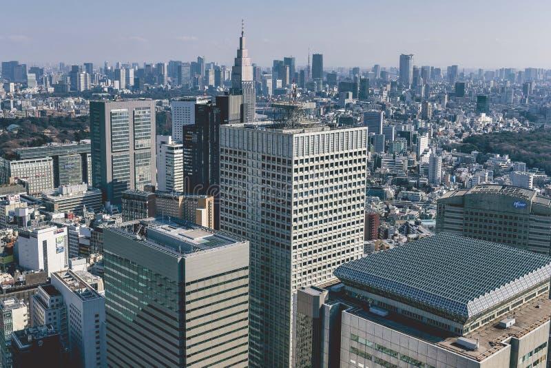 Shinjuku avv?rjer fotografering för bildbyråer