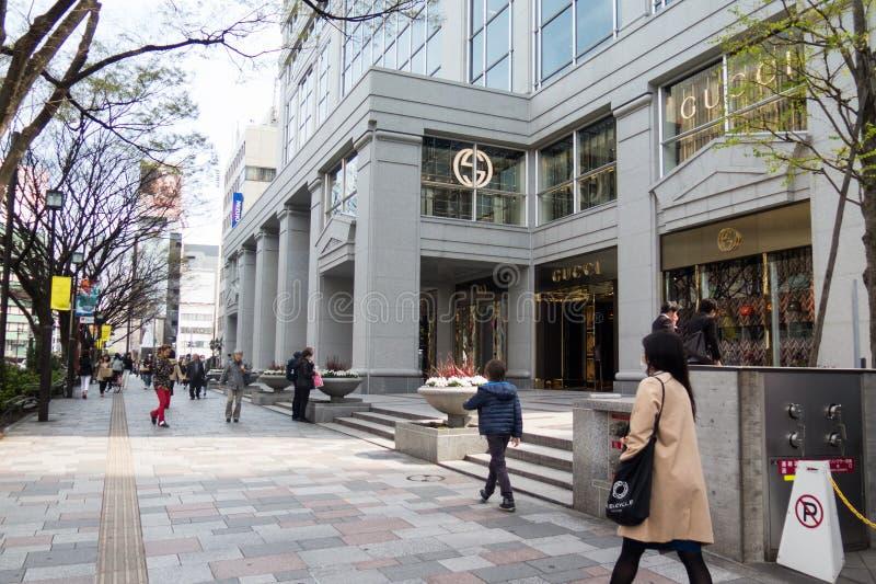 Shinjuku centrum handlowe fotografia royalty free