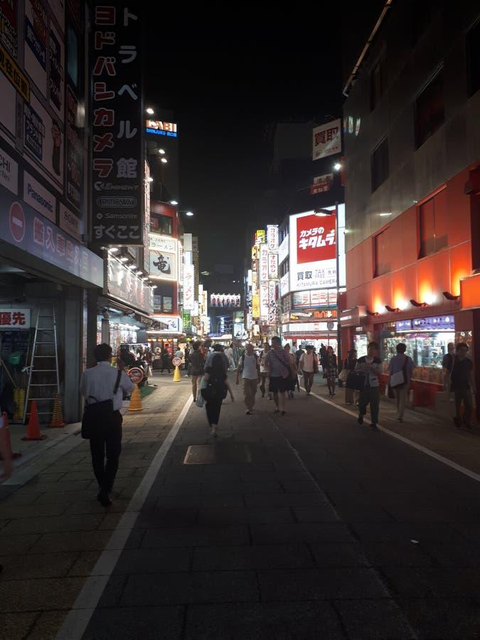 Shinjuku doyobashi kamera obrazy royalty free