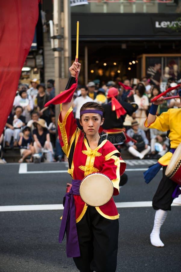 Shinjuku Eisa Festival fotografía de archivo