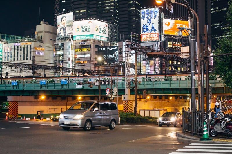 Shinjuku en Tokio, Japón fotos de archivo