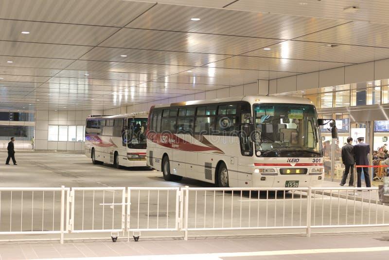 Shinjuku Expressway Bus Terminal in Tokyo, stock photos