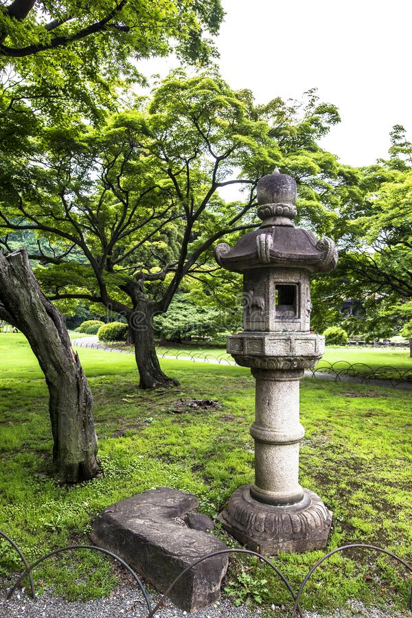 Shinjuku Gyoen National Garden is a large park and garden in Shinjuku and Shibuya, Tokyo, Japan.  royalty free stock photo