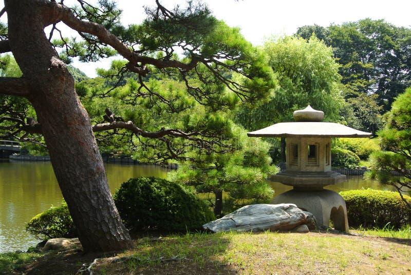 Shinjuku Gyoen National Garden. In Tokyo Japan royalty free stock photography