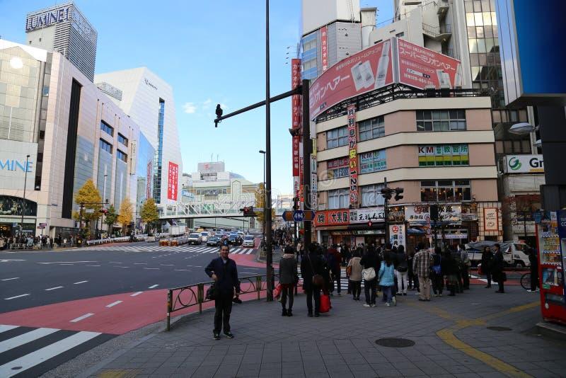Shinjuku, Japão fotografia de stock royalty free