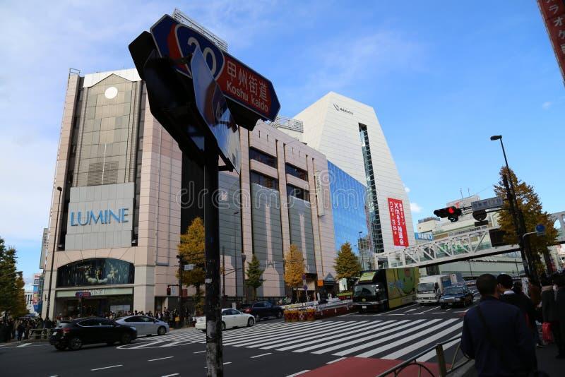 Shinjuku, Japão imagem de stock