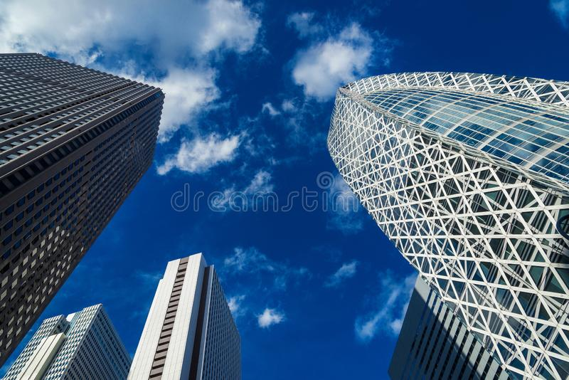 Shinjuku modern buildings royalty free stock image