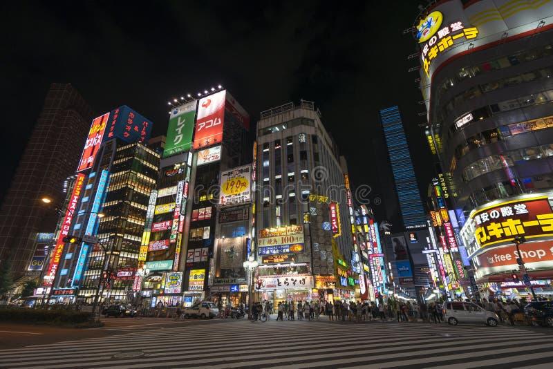 Shinjuku nattplats 1 royaltyfri foto