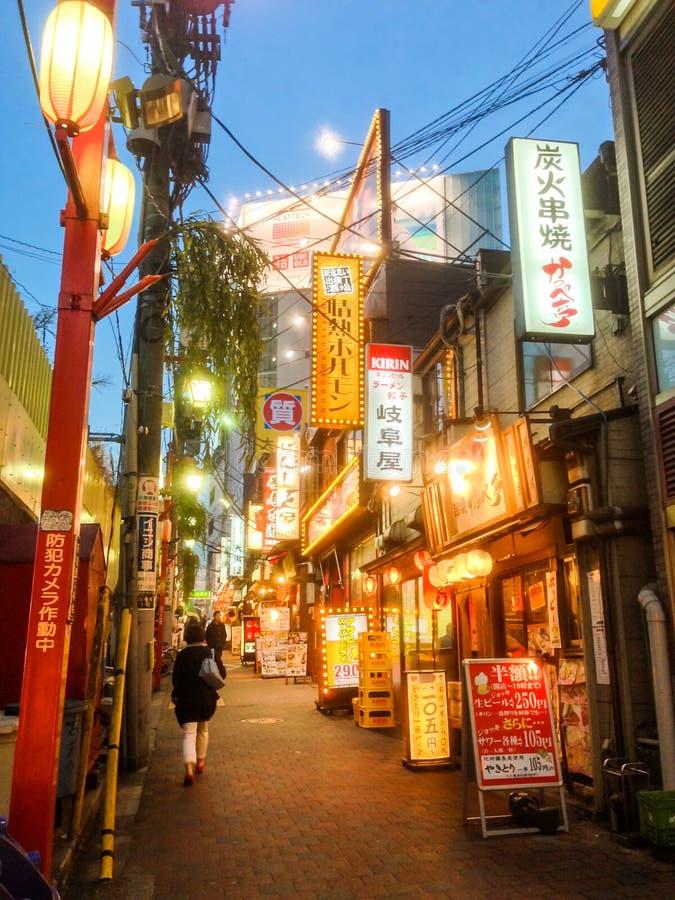 Shinjuku Tokyo arkivbild