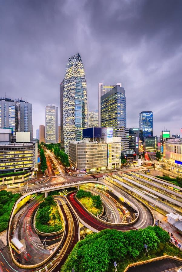 Shinjuku, Tokyo, Japan stock afbeelding