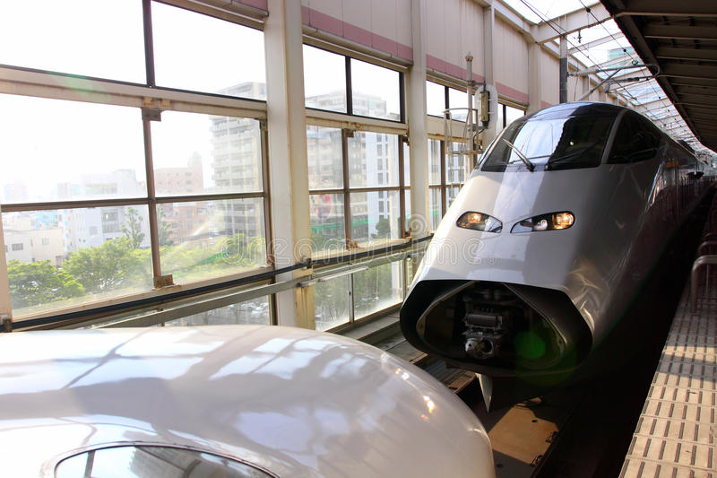 Shinkansen fotos de archivo libres de regalías