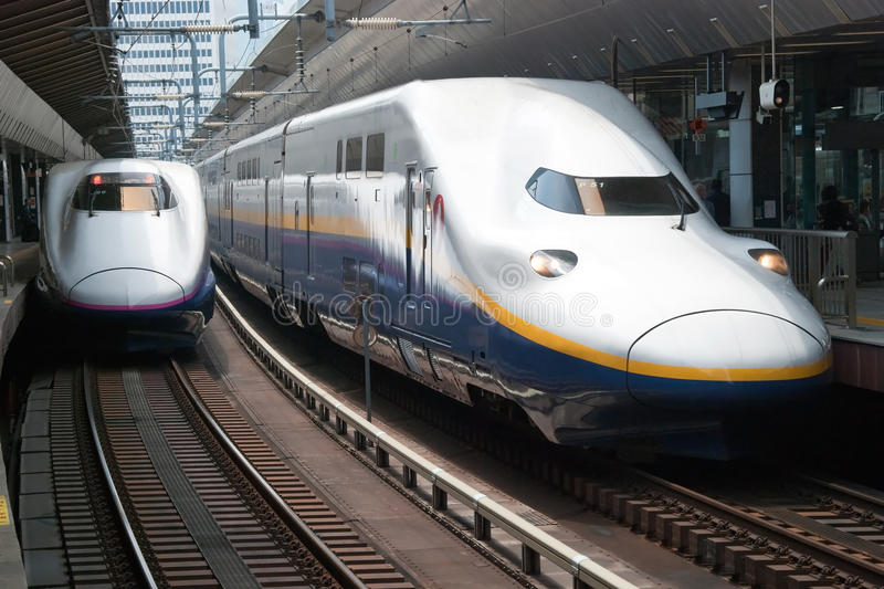 Download Shinkansen bullet train editorial photography. Image of express - 28455412