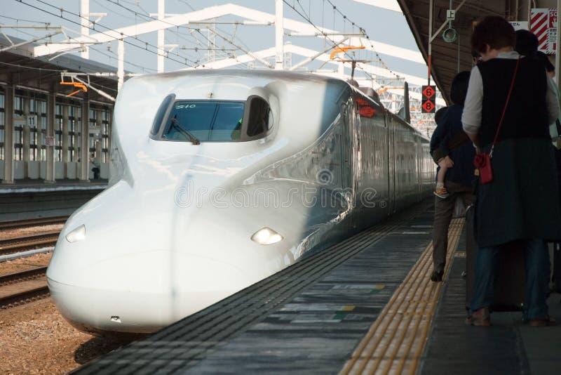 Download Shinkansen bullet train editorial photography. Image of high - 28455462