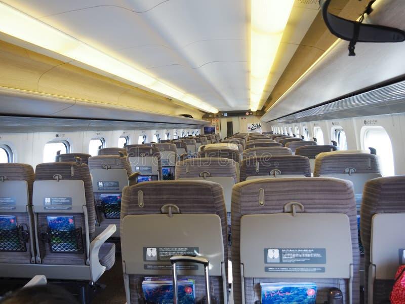 Download Shinkansen - Bullet Train Seats Editorial Photography - Image: 73717132