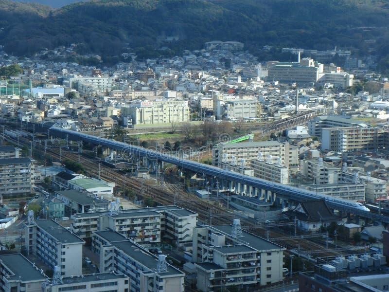 Shinkansen Gewehrkugel-Serie Lizenzfreie Stockfotografie