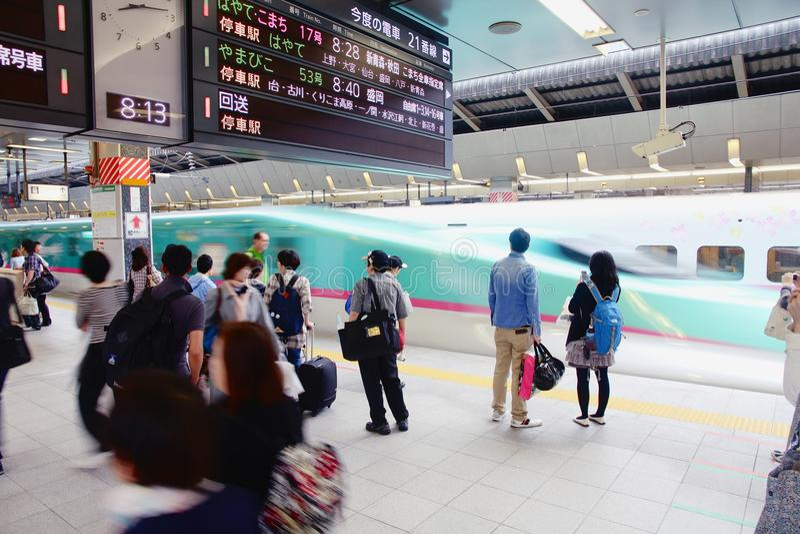 Shinkansen Hayabusa στοκ εικόνες με δικαίωμα ελεύθερης χρήσης