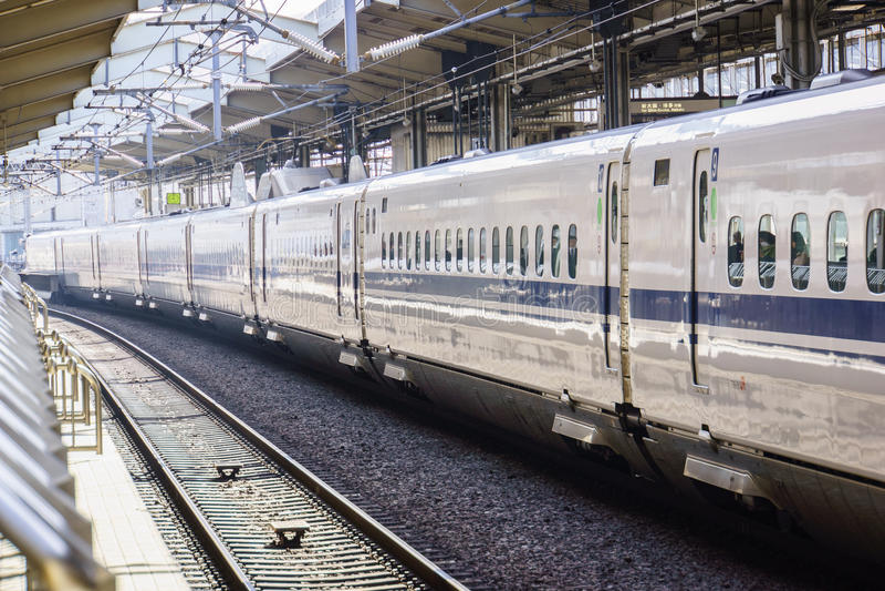 Shinkansen Japan stock fotografie