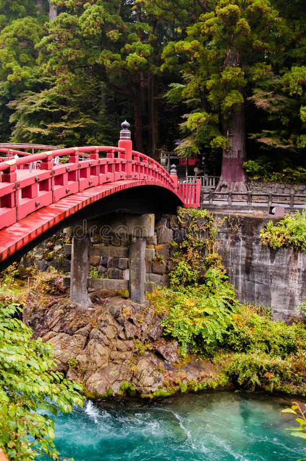 Shinkyo bro, Nikko, Tochigi, Japan royaltyfri bild