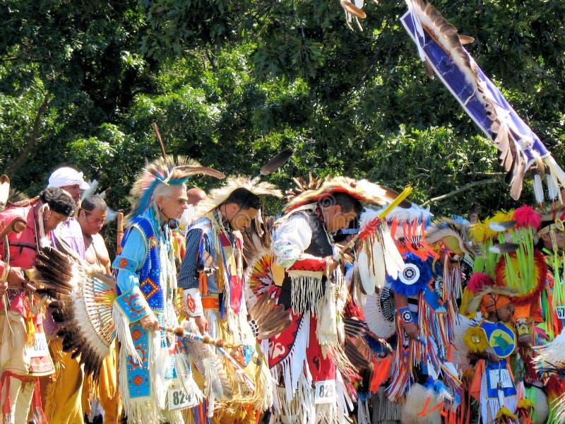 Shinnecock Indian Nation. POW WOW Long Island New York stock image