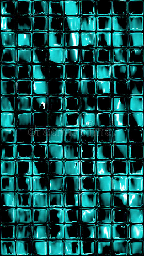 Download Shinny Glass Dark Tiles Bathroom Background Stock Illustration - Image: 95480010