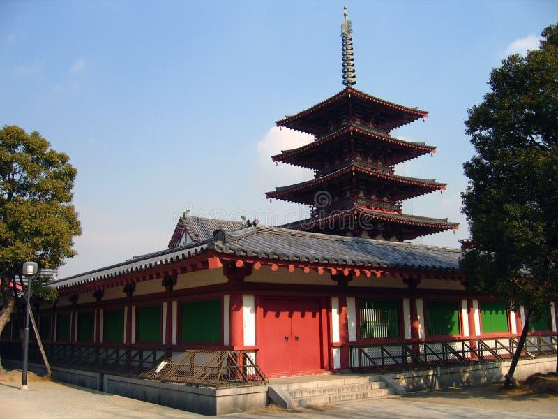 Shintennoji Temple - Osaka, Japan royalty free stock images