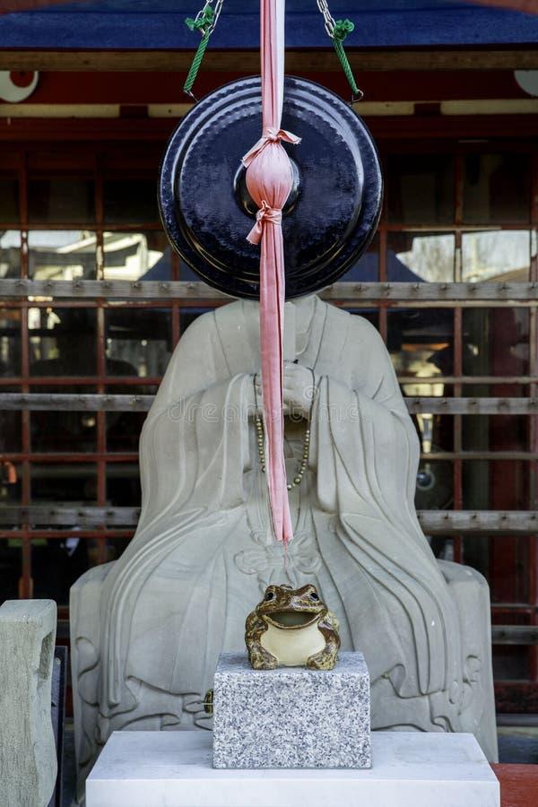 Shinto Boedha in de tempel van Japanner in Kyoto Japan royalty-vrije stock afbeelding