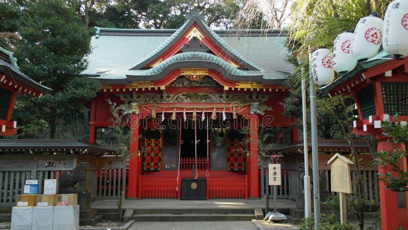 Shinto Shrine. At Enoshima, Japan stock images
