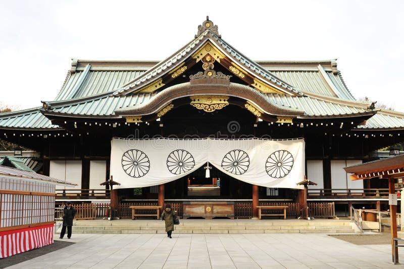 Shinto temple stock image