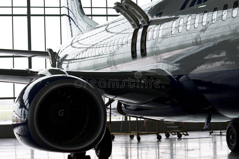 Shiny Airplane Editorial Stock Photo