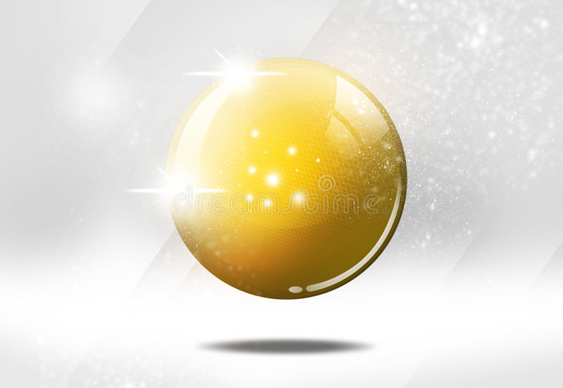 Download Shiny ball illustration stock illustration. Image of shine - 22441231