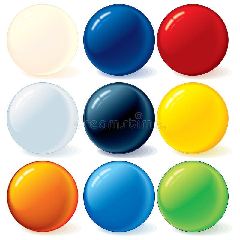 Shiny Balls stock photos