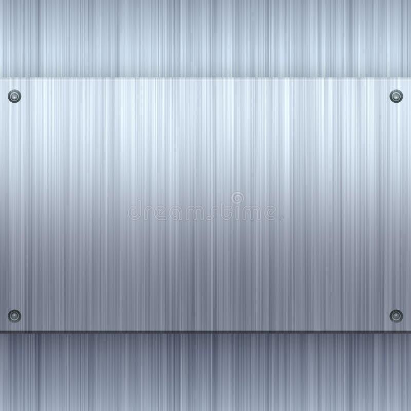 Download Shiny Brushed Aluminum stock illustration. Image of pattern - 12622247