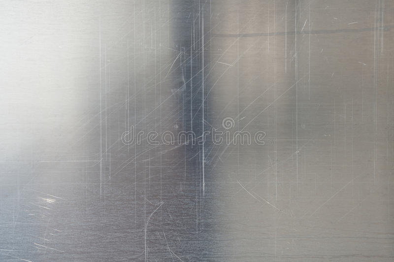 Brushed metal texture royalty free stock image