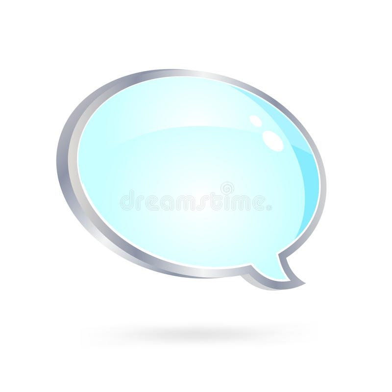 Download Shiny Chat Box stock vector. Image of glossy, green, bubble - 12966565