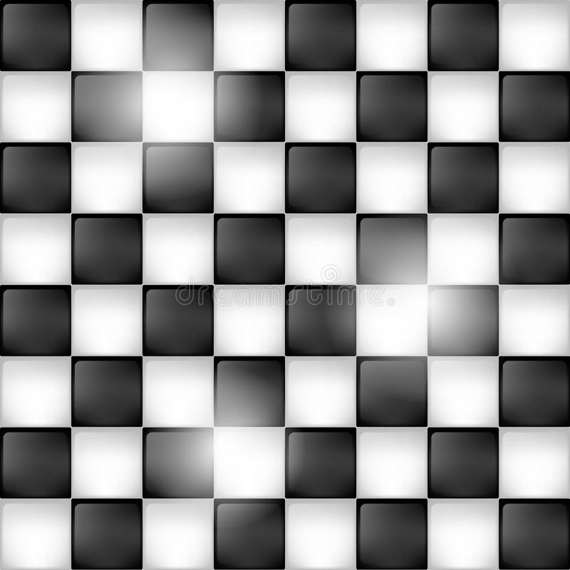 Shiny chessboard background