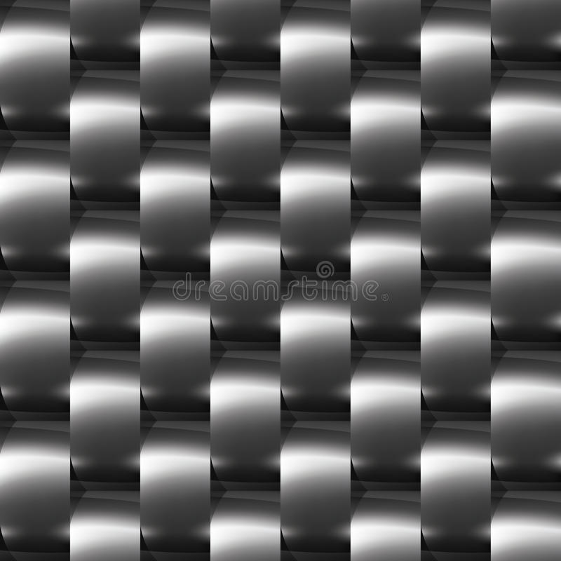 Download Shiny Dark Steel (chrome, Silver) Seamless Pattern Stock Vector - Illustration: 20027413